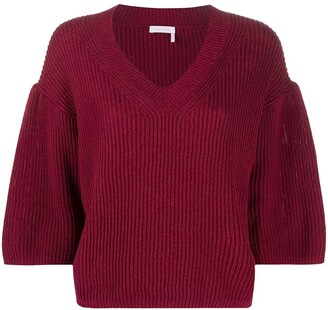 See by Chloe Flared Knitted Jumper