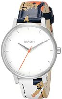 Nixon Women's A1082088 Kensington Leather Analog Display Analog Quartz Multi-Color Watch