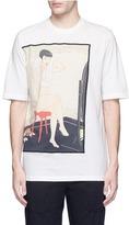 3.1 Phillip Lim Hamburger Ukiyo-e print T-shirt