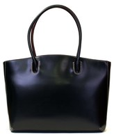 Lodis 'Audrey - Milano' Leather Computer Tote - Black