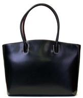 Lodis 'Audrey - Milano' Leather Computer Tote - Black