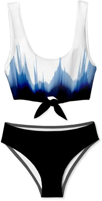 Stella Cove Kids' Print Two-Piece Swimsuit