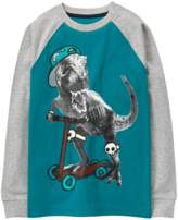 Gymboree T-Rex Scooter Tee