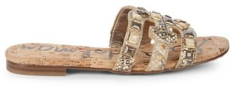 Sam Edelman Bay Faux Leather Sandals