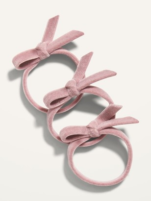 Old Navy Velvet Hair Ties 3-Pack for Girls