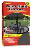 Jobar International Jobar 9-Foot Umbrella Table Screen in Black