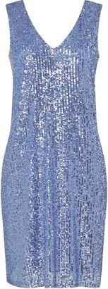 Wallis Blue Sequin Camisole Dress