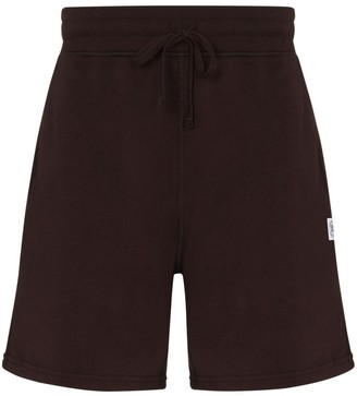 Reigning Champ x Browns logo-patch track shorts