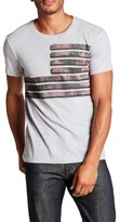 William Rast Graphic Print Crew Neck Tee