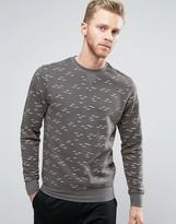 Bellfield Sweatshirt In Gull Print
