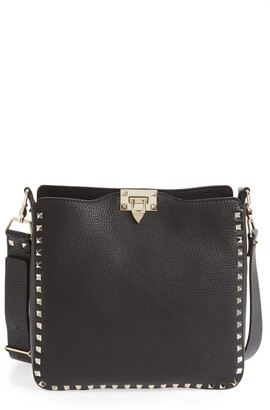 Valentino Rockstud Leather Hobo