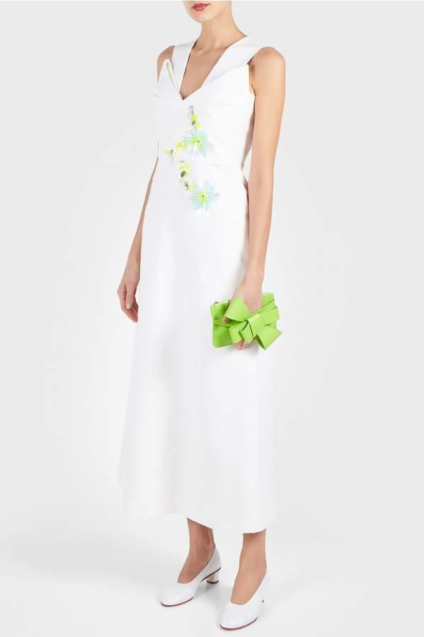 DELPOZO Embroidered Dress