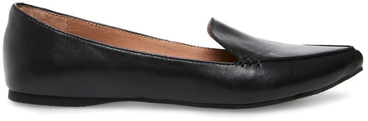 8e67031c16a Stevemadden FEATHER BLACK LEATHER