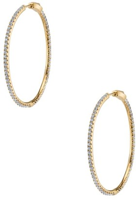 Anita Ko Fonda 18K Yellow Gold & Diamond Hoop Earrings