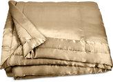 Donna Karan Home Reflection Gold Dust Full/Queen Silk Quilt