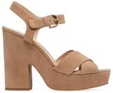 Kate Spade Grace Platform Suede Sandals