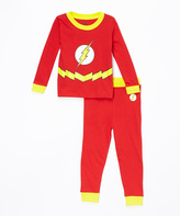 Intimo Red The Flash Pajama Set - Infant Toddler & Boys