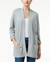 Karen Scott Three-Quarter-Sleeve Cardigan, Only at Macy's