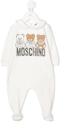 MOSCHINO BAMBINO Logo Print Babygrow