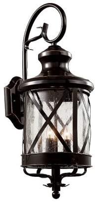 "Bel Air Lighting Tennessee 29"" Outdoor Wall Light in Bronze"