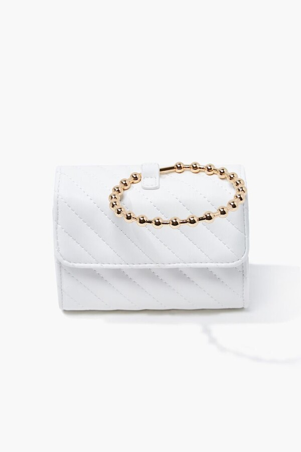 Thumbnail for your product : Forever 21 Quilted Top Handle Crossbody Bag