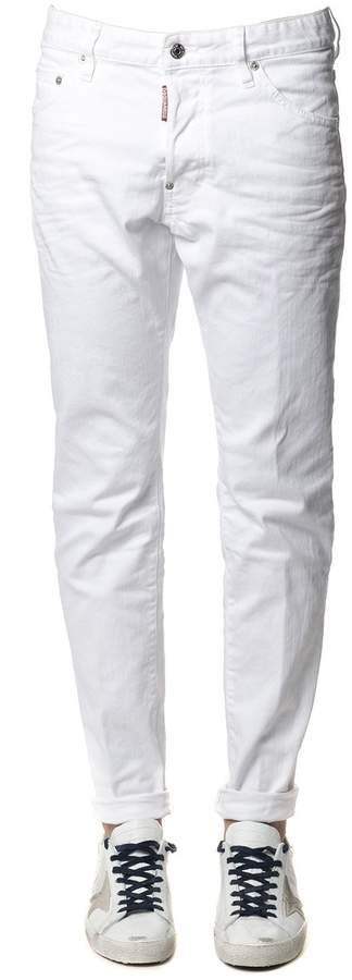 DSQUARED2 Cool Guy White Denim Jeans