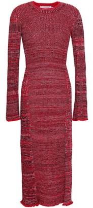 Pringle Ribbed-knit Midi Dress