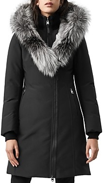 Mackage Trish Fur Trim Down Coat
