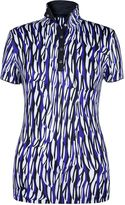 Women's Tail Printed Golf Polo