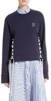 Public School Women's Leighton Lace-Up Sweatshirt