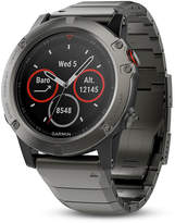 Zales Garmin fAnixA 5X Grey Smart Watch (Model: 10-01733-04)