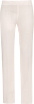 Antonio Berardi Straight-leg crepe trousers