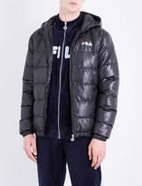 Fila Hooded shell puffer jacket