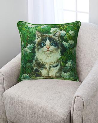 Yana Movchan Summer Shades Silk Pillow