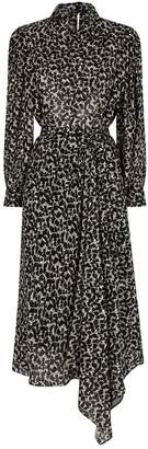 Isabel Marant Julinea Printed Midi Dress