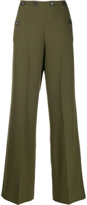 Roland Mouret wide leg trousers