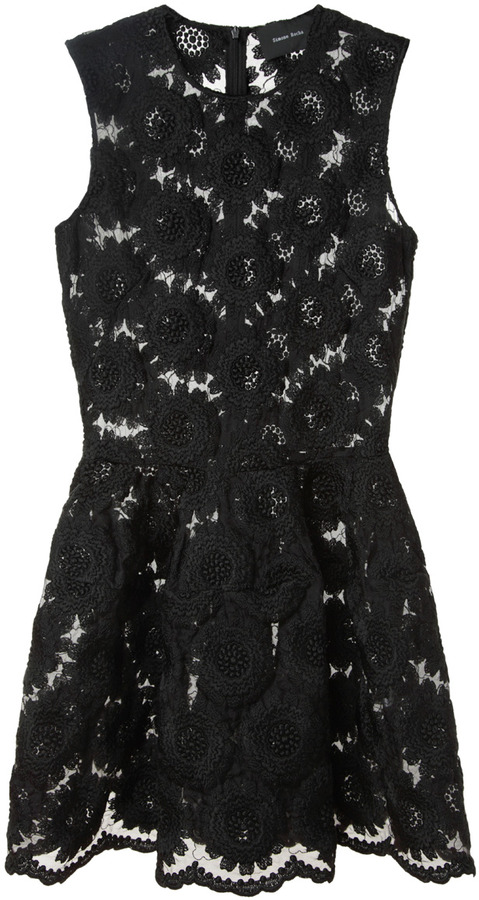 Simone Rocha / Big Daisy Short Dress
