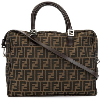 Fendi Pre-Owned Zucca pattern 2-way top-handle bag
