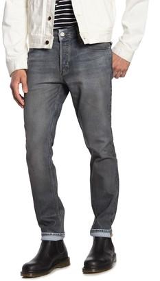 Hudson Axl Distressed Skinny Jeans