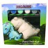 Your Own Trimcraft Paint Dinosaurus-Big T-Blue,