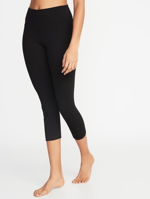 Old Navy High-Waisted Balance Crop Leggings For Women