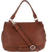 Plinio Visona PLINIO VISONA' Lamb Leather Convertible Satchel Handbag