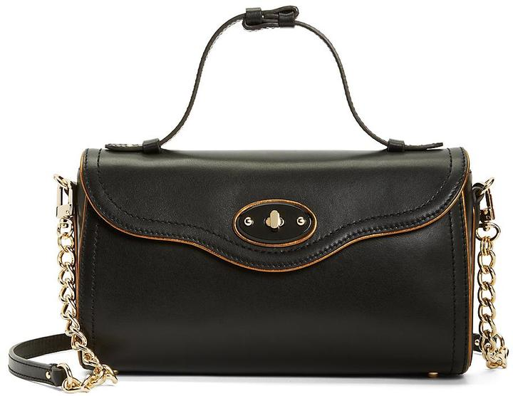 Brooks Brothers Calfskin Small Satchel