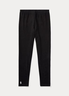 Ralph Lauren Stretch Cotton Jersey Legging