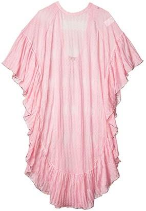 Missoni Mare Rounded Caftan (Pink) Women's Swimwear