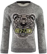 Kenzo Grey Marl Beaded Sweatshirt