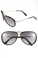 Tom Ford 'Cyrille' 63mm Aviator Sunglasses