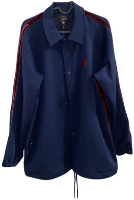 Needles Blue Polyester Jackets