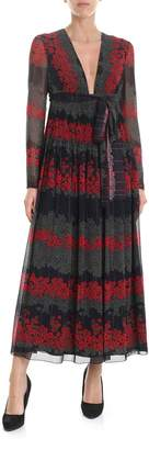 RED Valentino Dreaming Peony Long Dress