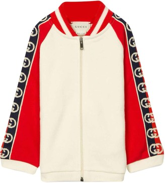 Gucci Red And White Sweatshirt